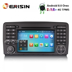 "Erisin ES7881R 7"" 8-Core Android 8.0 Car Stereo Wifi GPS DAB+ BT Sat Nav Mercedes Benz R Class W251"