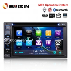 "Erisin ES790U 6.2"" Double 2 Din Autoradio GPS TNT Bluetooth 3G DVR USB RDS Navigation MP5 AUX iPod"