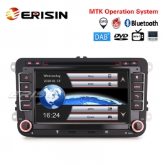 "Erisin ES7148V 7"" Car Stereo GPS DAB+ CD DTV OPS For VW Golf Passat Tiguan Polo Sharan Jetta Seat"