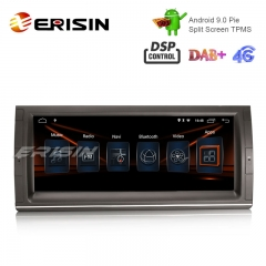 "Erisin ES2903B 10.25"" Android 9.0 Autoradio GPS Wifi DSP für BMW 5er E39 E53 X5 M5 Satellitennavigation TPMS / DAB-IN"