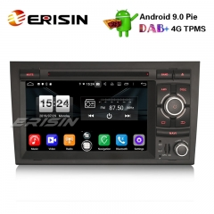 "Erisin ES7738A 7"" Android 9.0 Auto DVD Stereo DAB + 4G GPS Navi für Audi A4 S4 RS4 Seat Exeo"