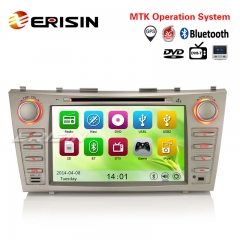 "Erisin ES7668M 8"" Car DVD Player GPS SAT NAVI 3G Bluetooth VMCD for TOYOTA AURION CAMRY"