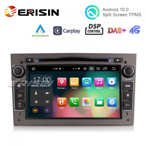 "Erisin ES8160PG 7"" Octa-Core Android 10.0 Car DVD DSP CarPlay & Auto GPS TPMS DAB+ for Opel Antara Zafira Combo"