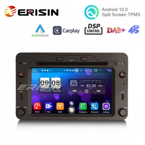 "Erisin ES8720R 6.2"" Octa-Core Android 10.0 Car DVD CarPlay & Auto GPS TPMS DAB DSP for Alfa Romeo Spider 159 Sportwagon"